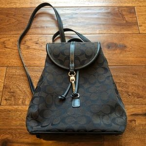 Coach Signature Backpack Small